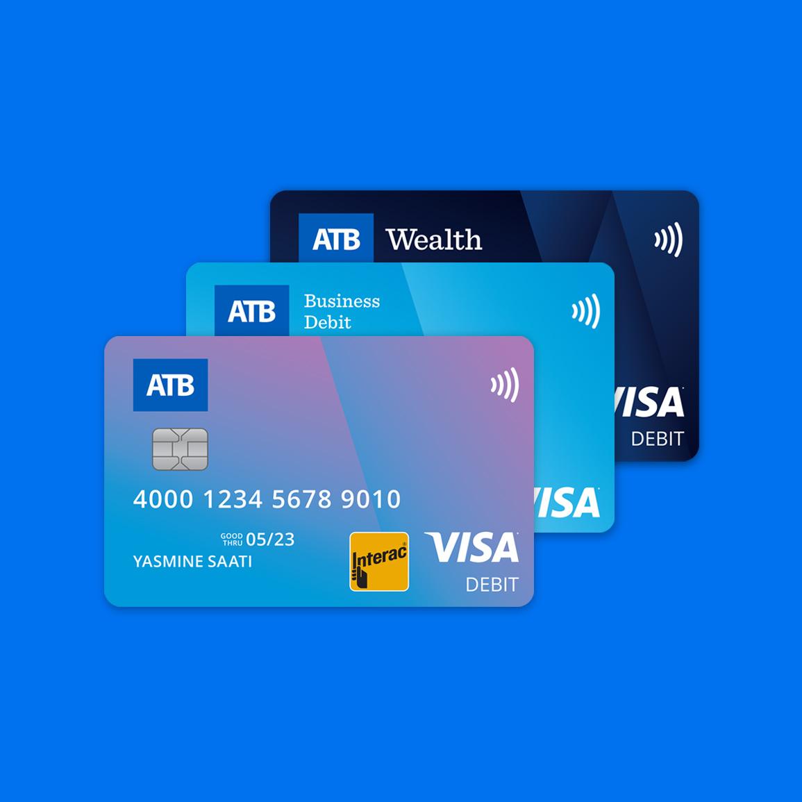 Visa Debit enabled ATB Debit card ATB Financial
